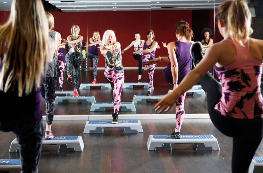 Zumba step – party in palestra