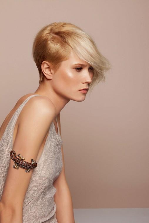 Tagli di capelli con rasatura laterale
