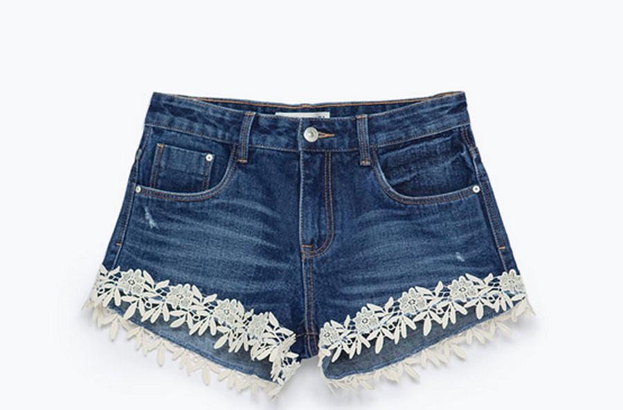 Shorts sì, in denim!