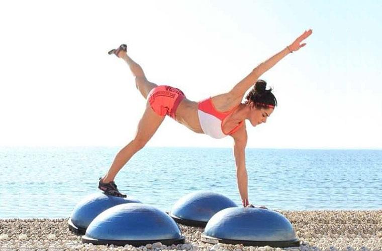 Bosu per gambe snelle, toniche, senza cellulite