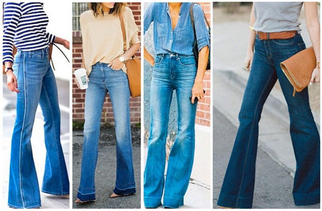 Come indossare i jeans a zampa | Silhouette Donna