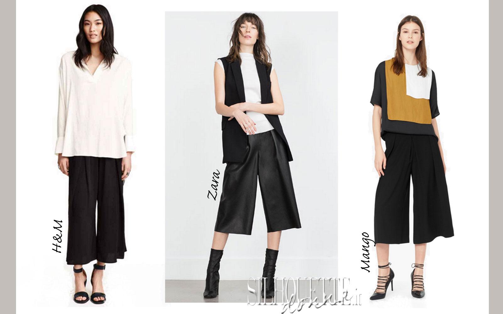 97301255bc8c23 Pantaloni-culotte autunno inverno 2015: consigli di stile | Silhouette Donna