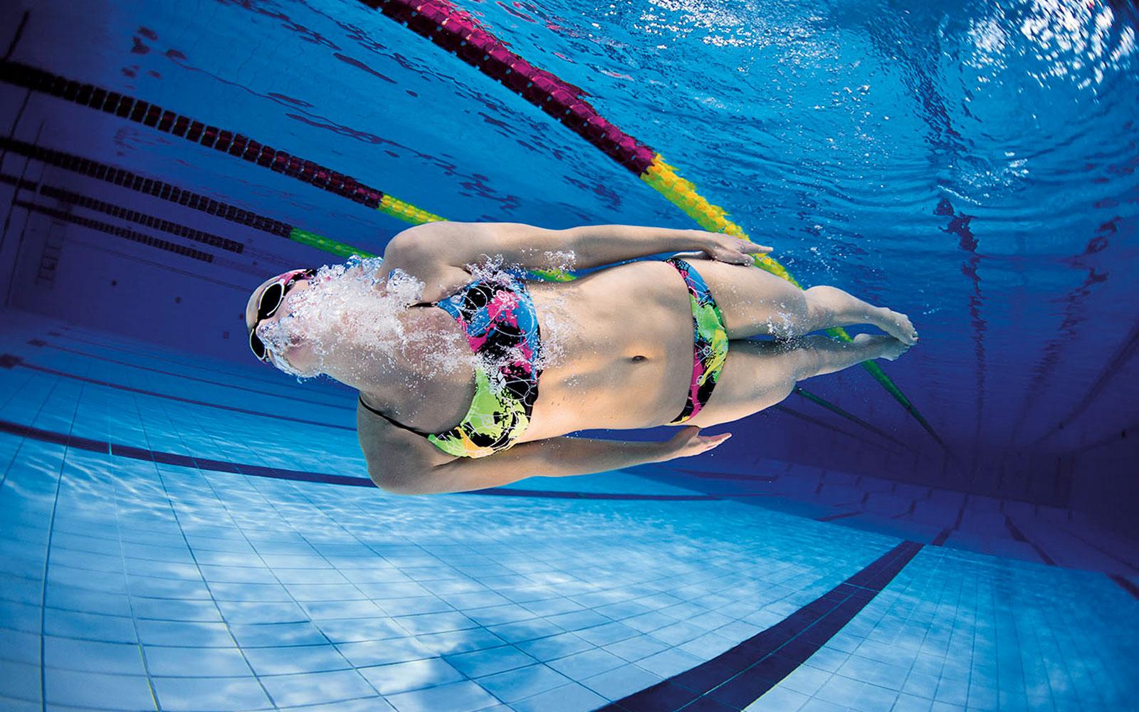 Nabaiji silicone viola cuffia in silicone per capelli asciutti - Costumi da piscina ...