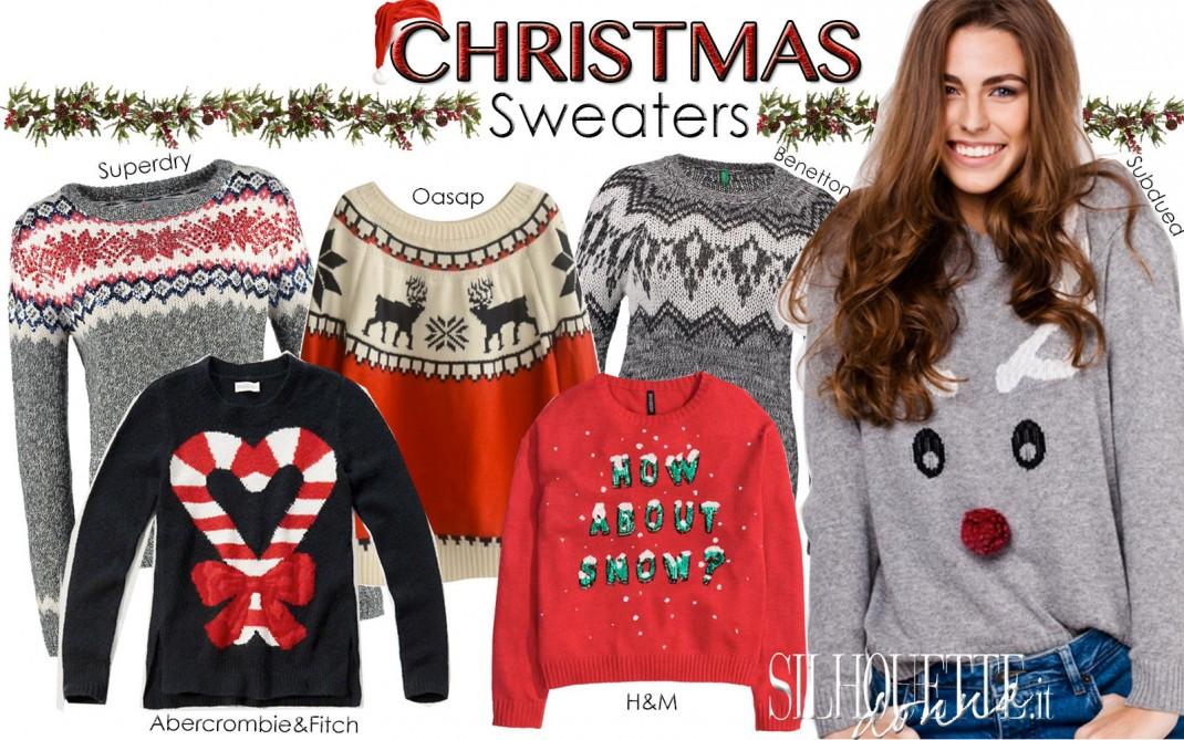 in vendita 9a049 ae54a Maglioni natalizi: caldi e divertenti | Silhouette Donna