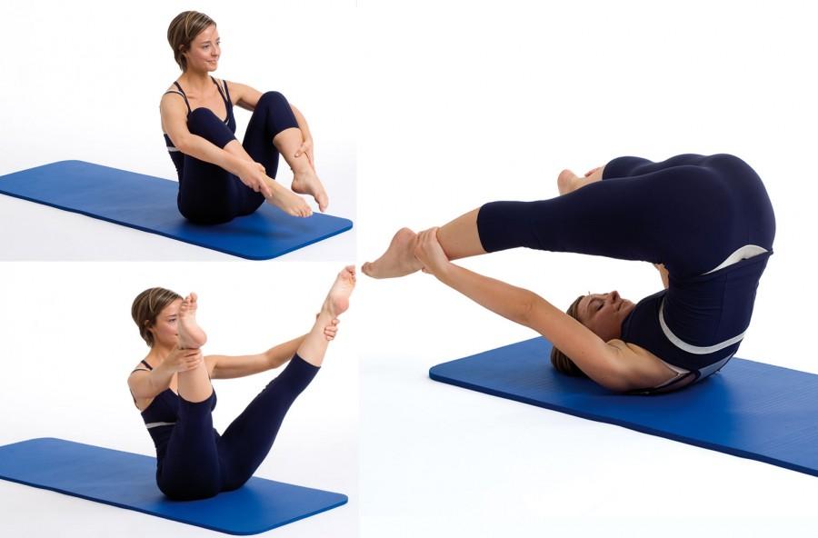 Pilates: open leg rocker, per rassodare gambe, glutei e addominali