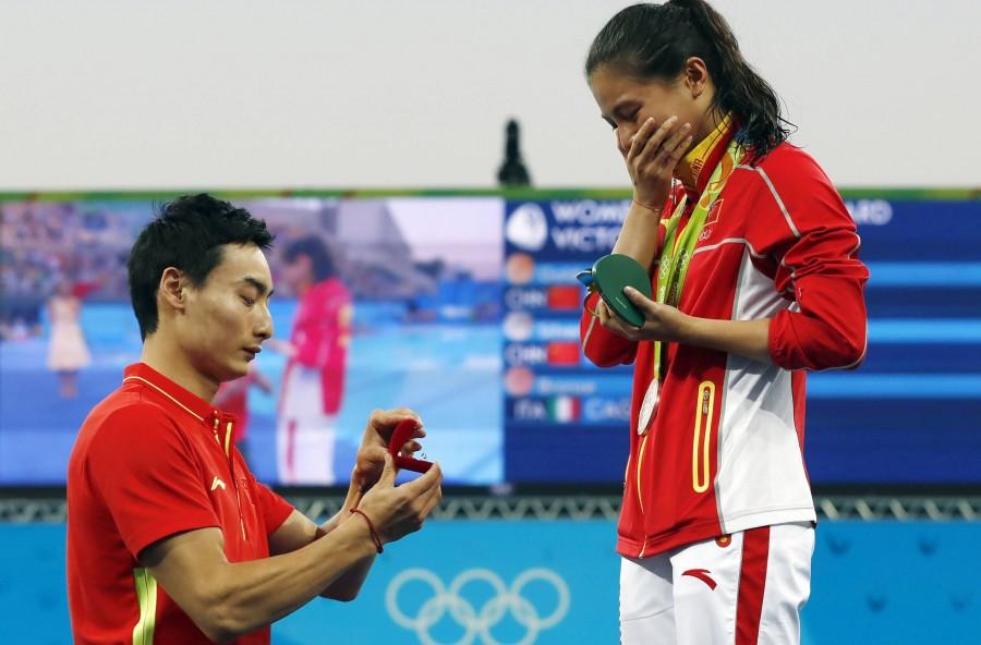 Olimpiadi 2016: a Rio gare d'amore