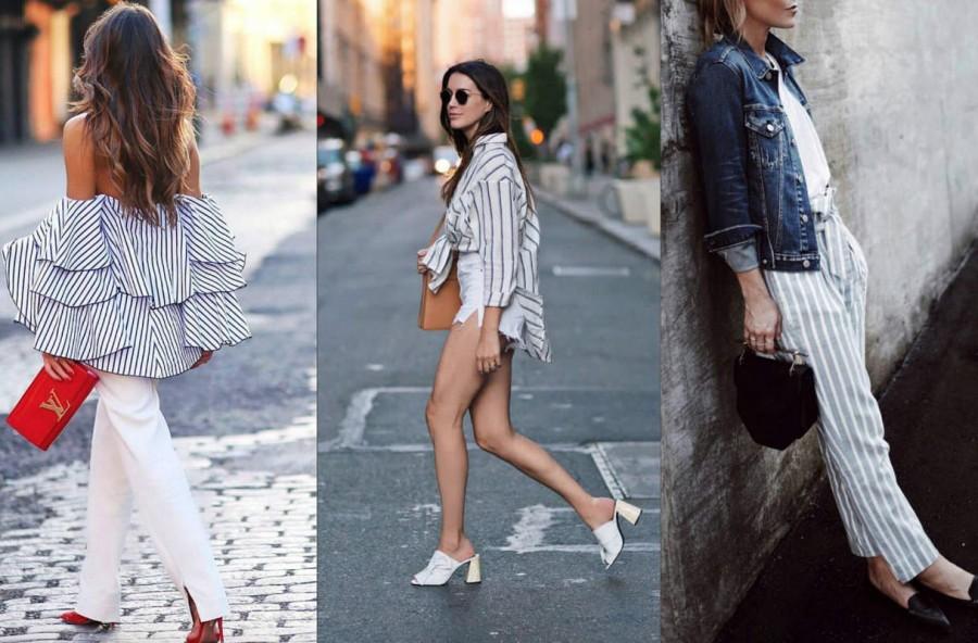 Trend stripes: 3 outfit per il rientro in città