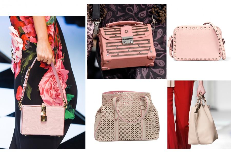 Trend inverno 2016: la borsa di stagione è rosa