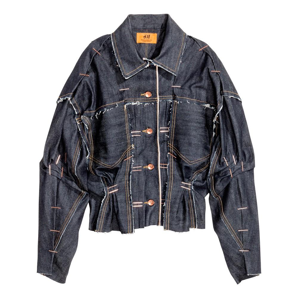 H&M Design Award 2016 Hannah Jinkins – giacca destrutturata in jeans (euro 179)