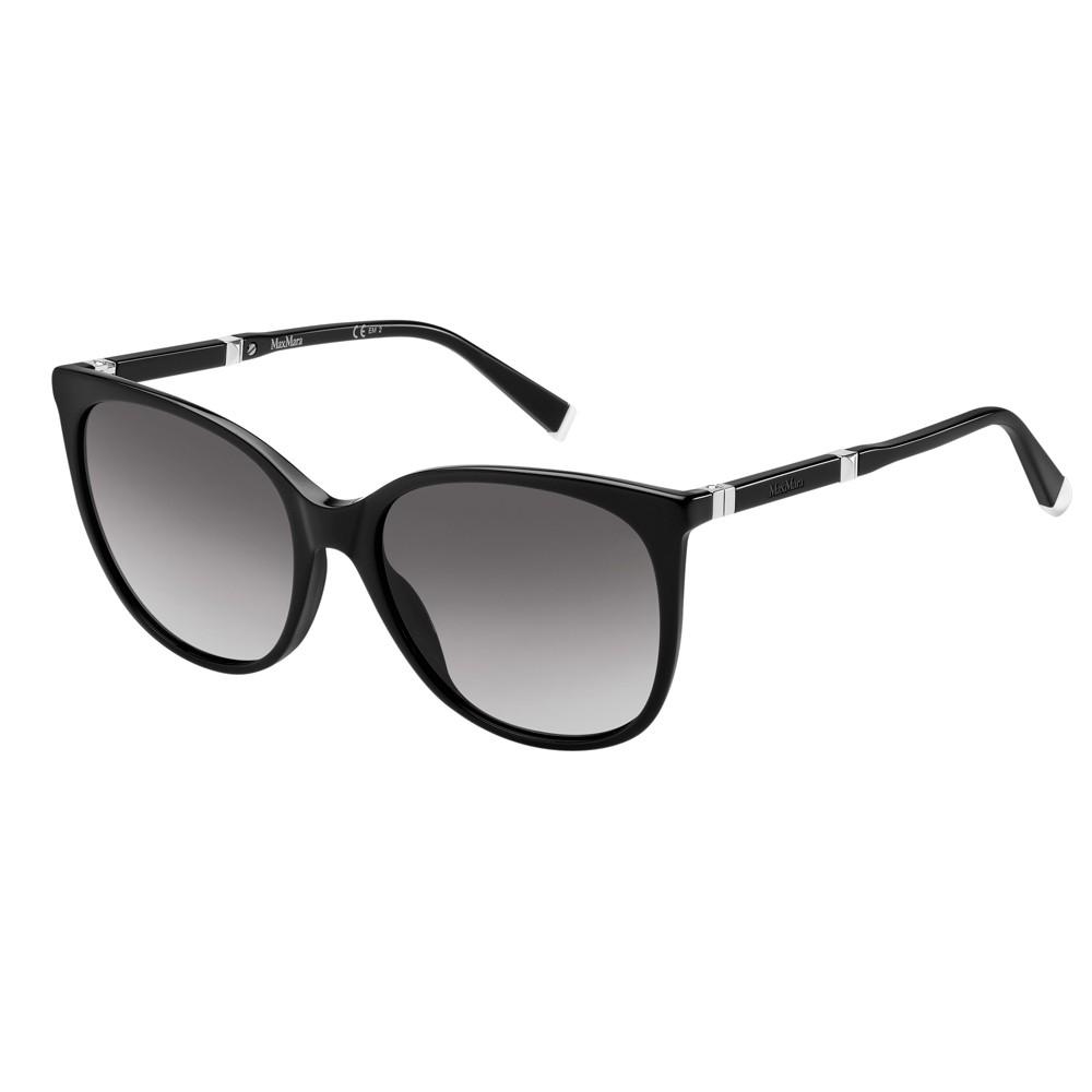 Max Mara by Safilo – occhiale in acetato nero con forma squadrata