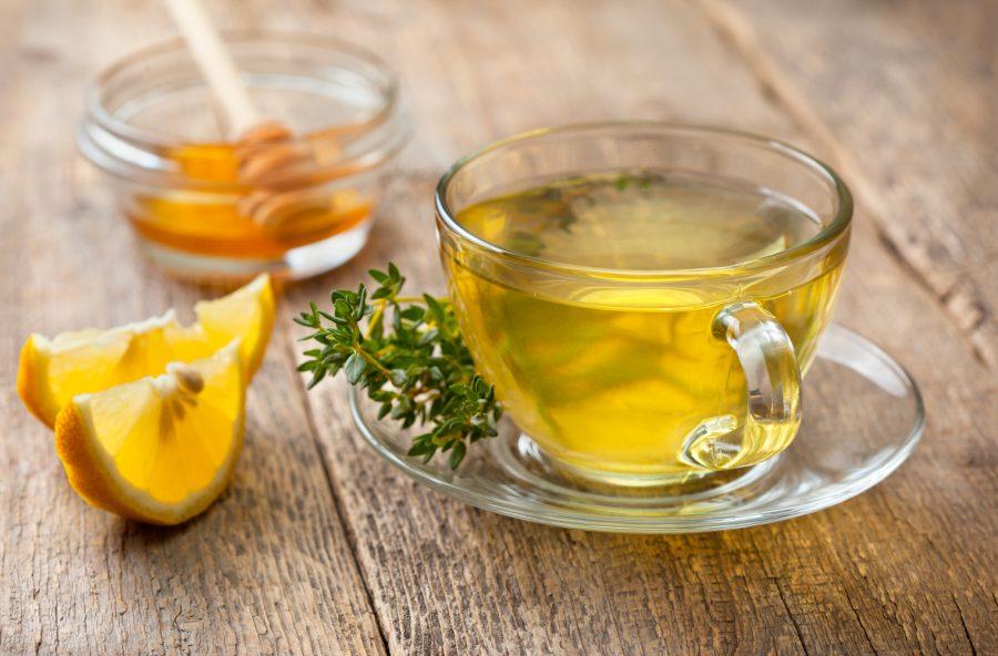Tisana al miele di timo, dolce e disinfettante
