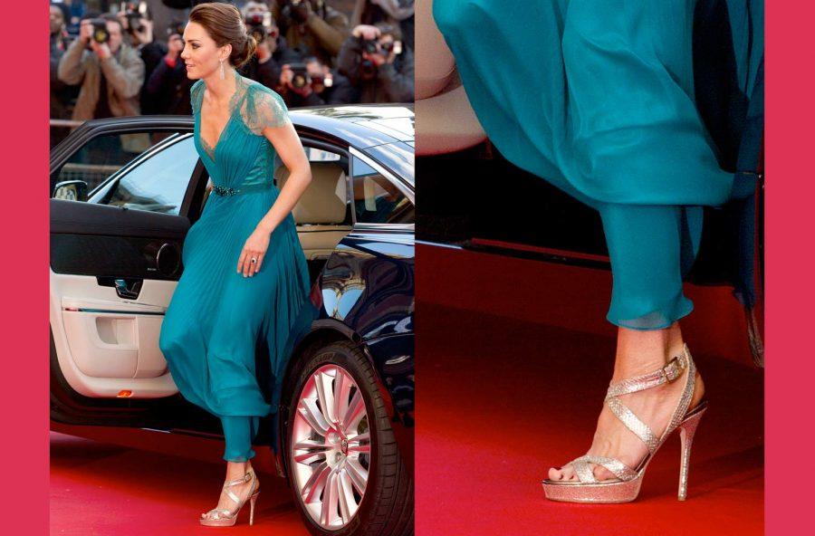 Kate Middleton e il suo segreto per piedi all'altezza