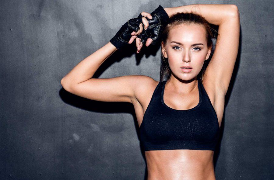 Protesi al seno in poliuretano per le sportive