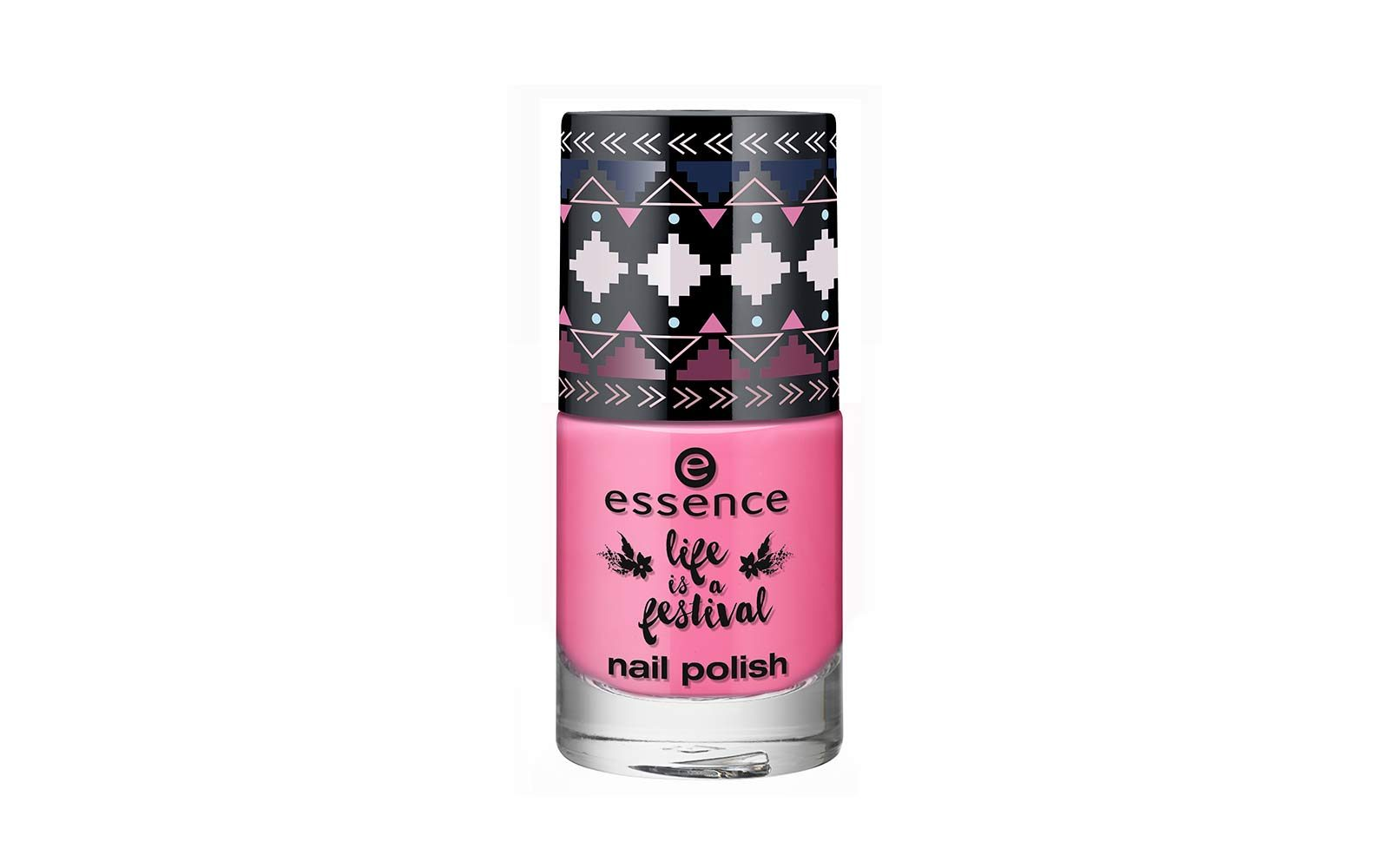 Essence – Life is a festival – smalto rosa fluo (euro 2,49)