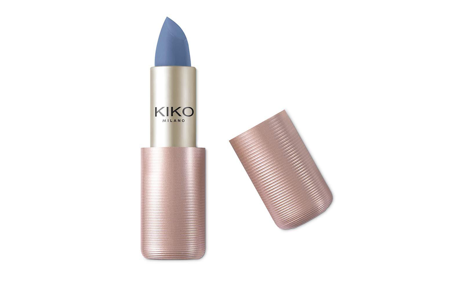 Kiko – rossetto blu-viola effetto matt (euro 10,35)