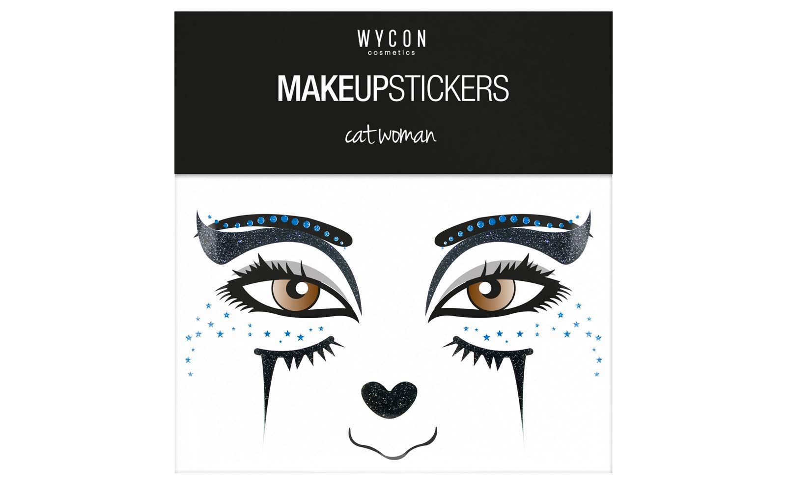 Wycon Cosmetics – make up stickers da applicare in viso, sugli occhi (euro 3,90)