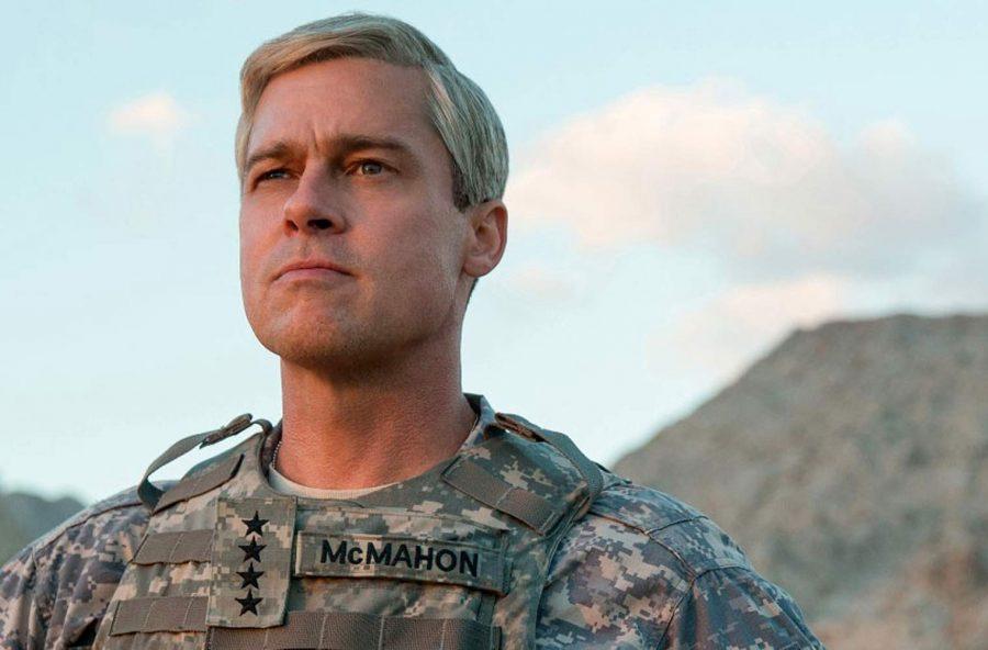 Brad Pitt ridicolo e crudele in War machine