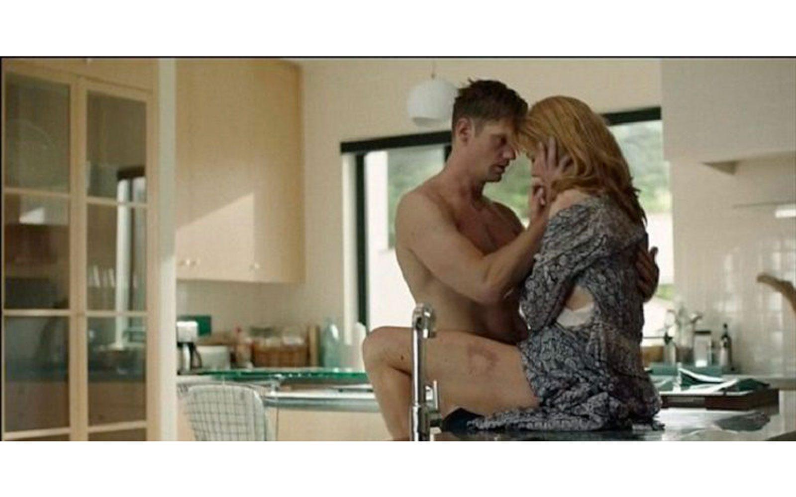 """Conturbante e algida allo stesso tempo nella miniserie """"Big little lies"""" (2017), dove interpreta la moglie di un uomo violento e non si fa mancare scene di sesso estremo e topless"""