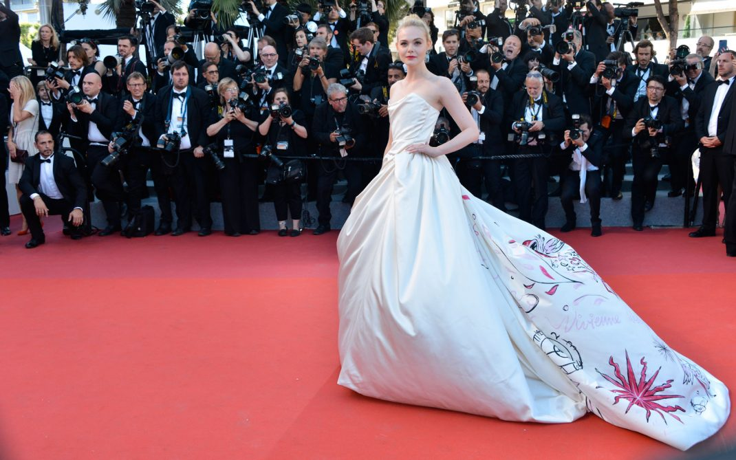 elle fanning opening Cannes