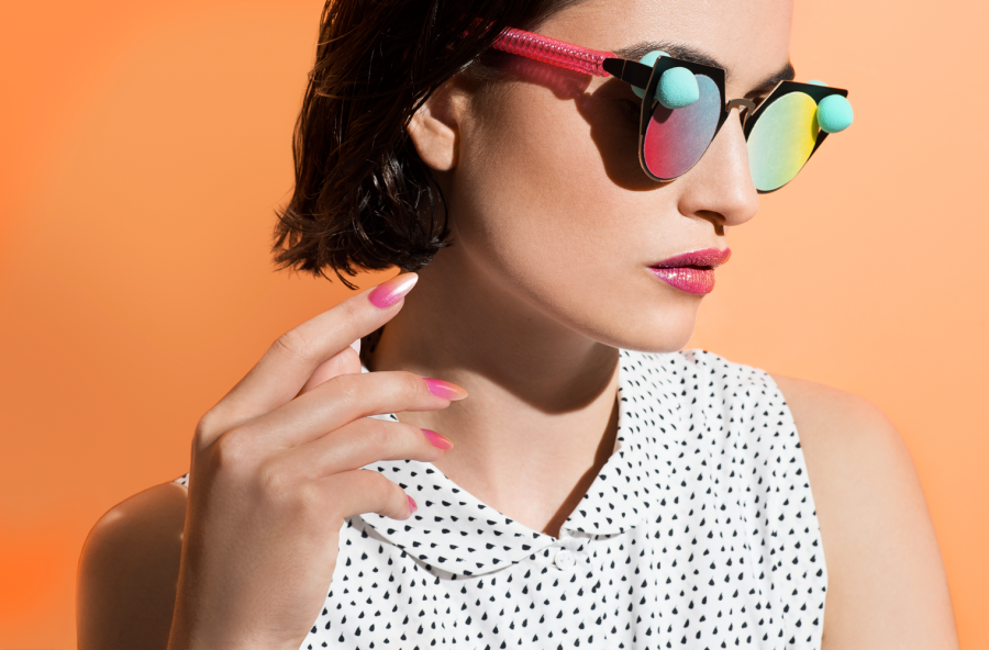 Nail art summer 2017, effetto ombré in 5 step