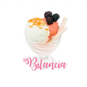 Bilancia: se fossi un gelato saresti…. una sfumata opera d'arte in coppa di cristallo