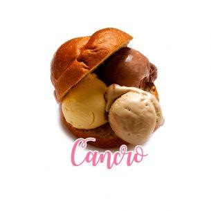 Cancro: se fossi un gelato saresti…. una brioche con gelato