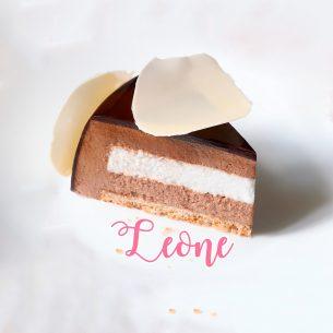 Leone: se fossi un gelato saresti…. una sofisticata torta al gelato