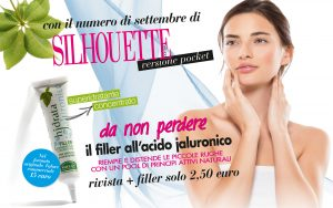 Con Silhouette donna pocket di settembre, il filler all'acido jaluronico