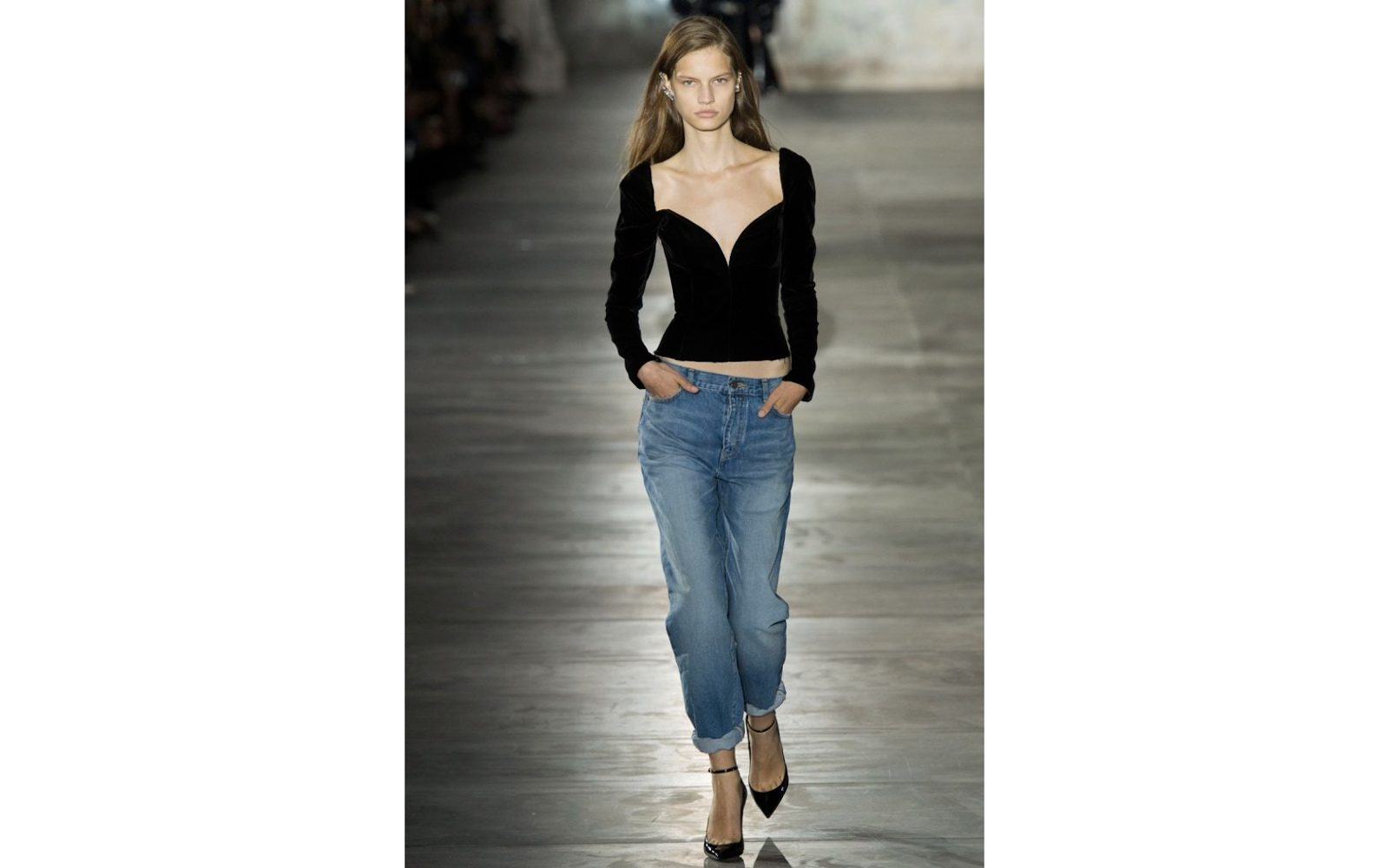 Boyfriend jeans – Anthony Vaccarello per Saint Laurent