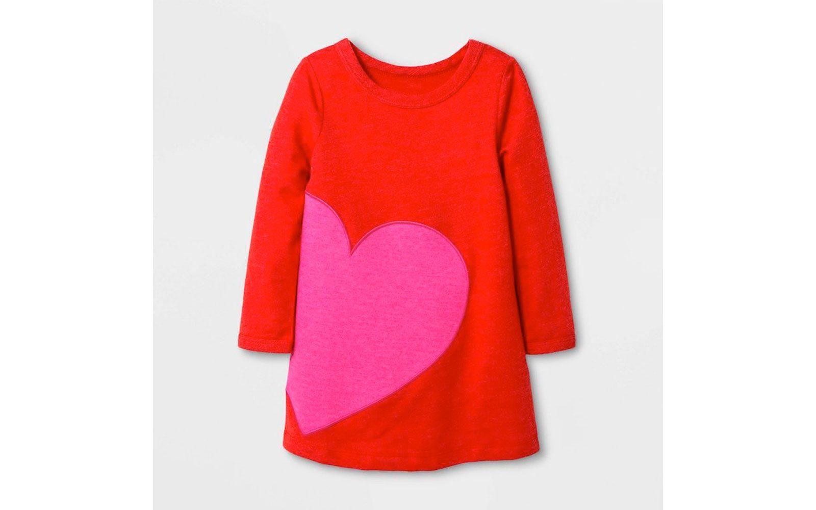 Cat Jack Valentine Day Line Dress
