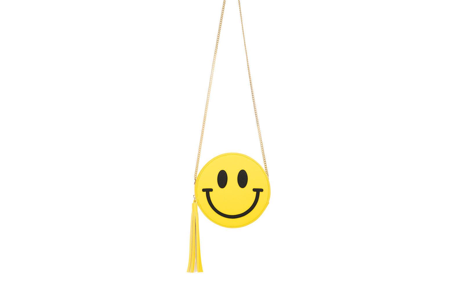 """LE PANDORINE borsina """" smile"""" in  giallo limone. 59 euro     www.lepandorine.it"""