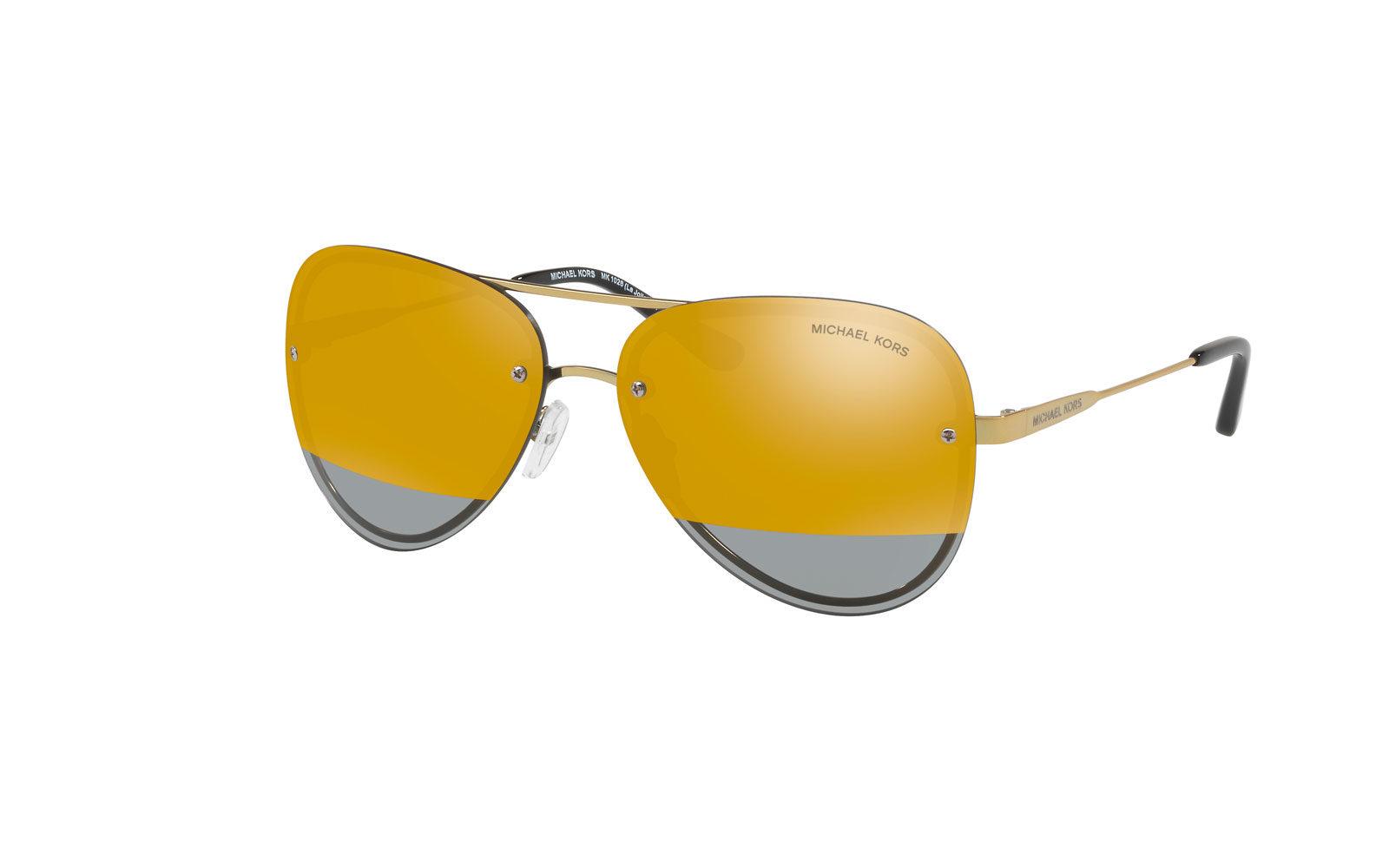 MICHAEL KORS occhiali avietor con lenti specchiate. 245 euro     www.michaelkors.it