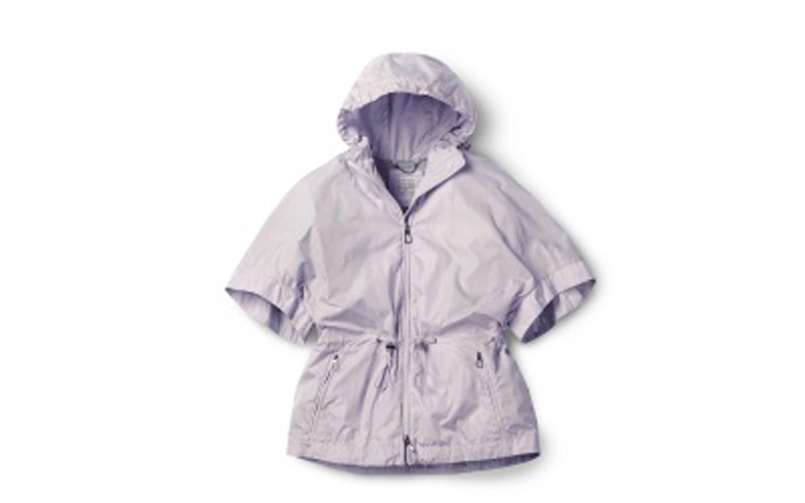 GEOX  giacca imper leggera con cappuccio e zip. Perfetta per la camminata (euro 179) www.geox.com