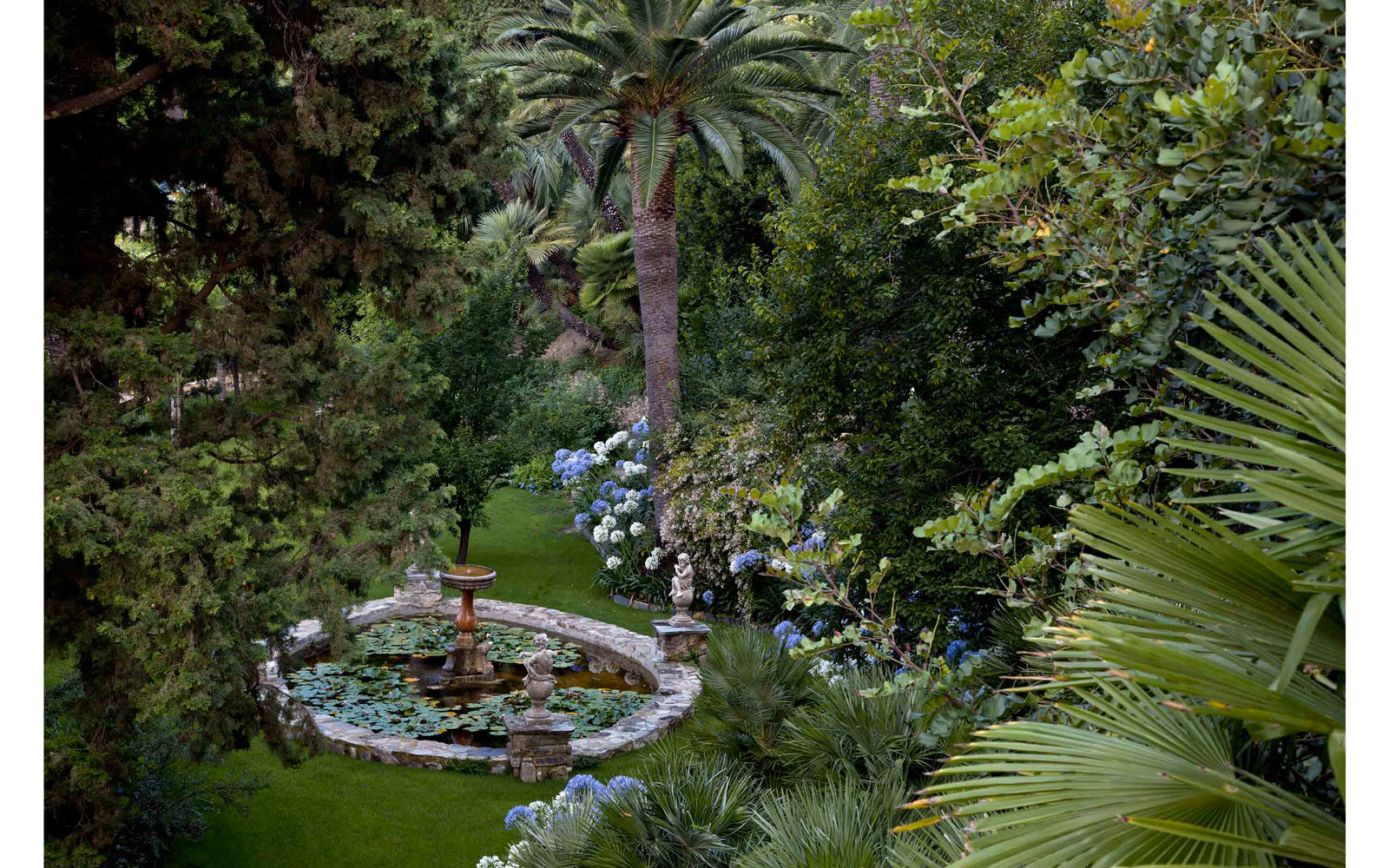 I giardini di Villa Pergola, Alassio