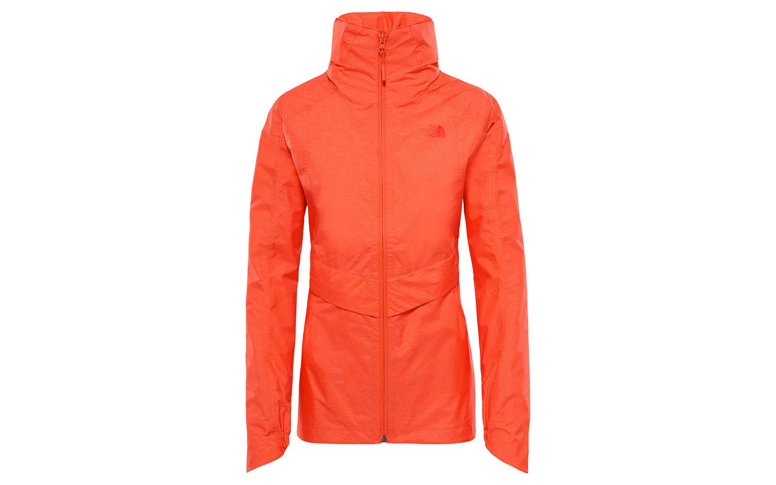 The North Face Inlux Dryvent Jacket, protegge dale intemperie, ha cuciture termosaldate e collo oversize con cappuccino ripiegabile, euro 180