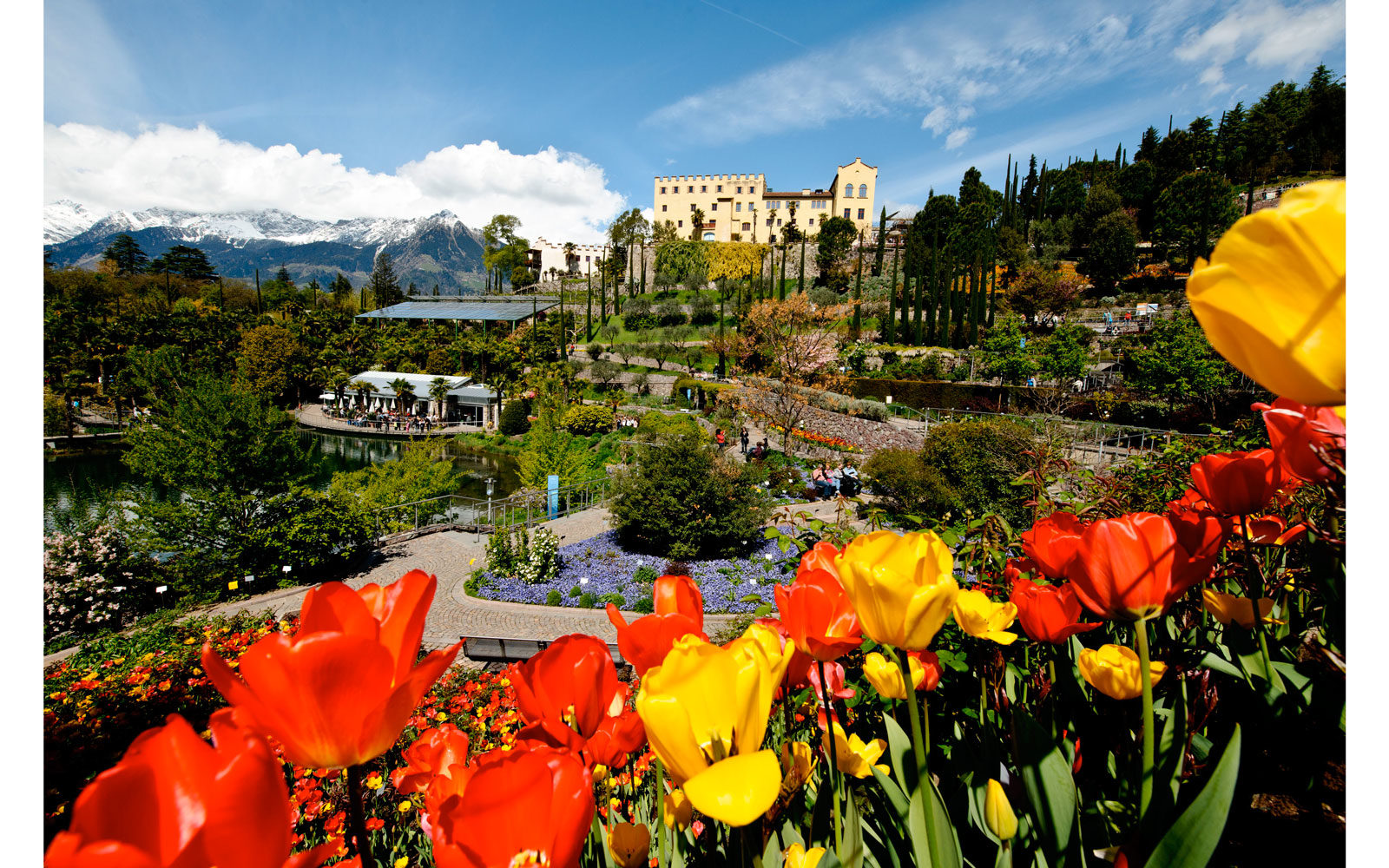 I giardini di Sissi, Merano