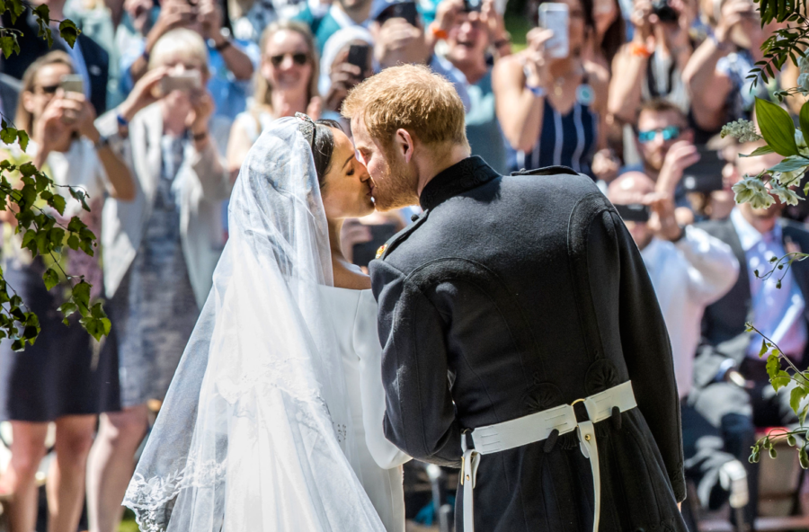Matrimonio Meghan e Harry: i momenti In e Out