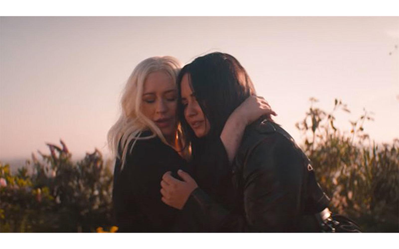 Christina Aguilera & Demi Lovato