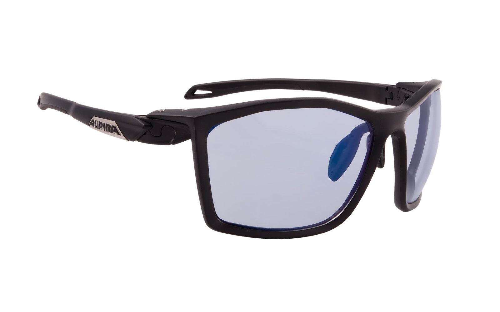 Alpina Twist Five VLM+, occhiale perfetto per la MTB, montatura con inclinazione regolabile, naselli regolabili, lenti che si adattano automaticamente alle variazioni di luce, euro 129