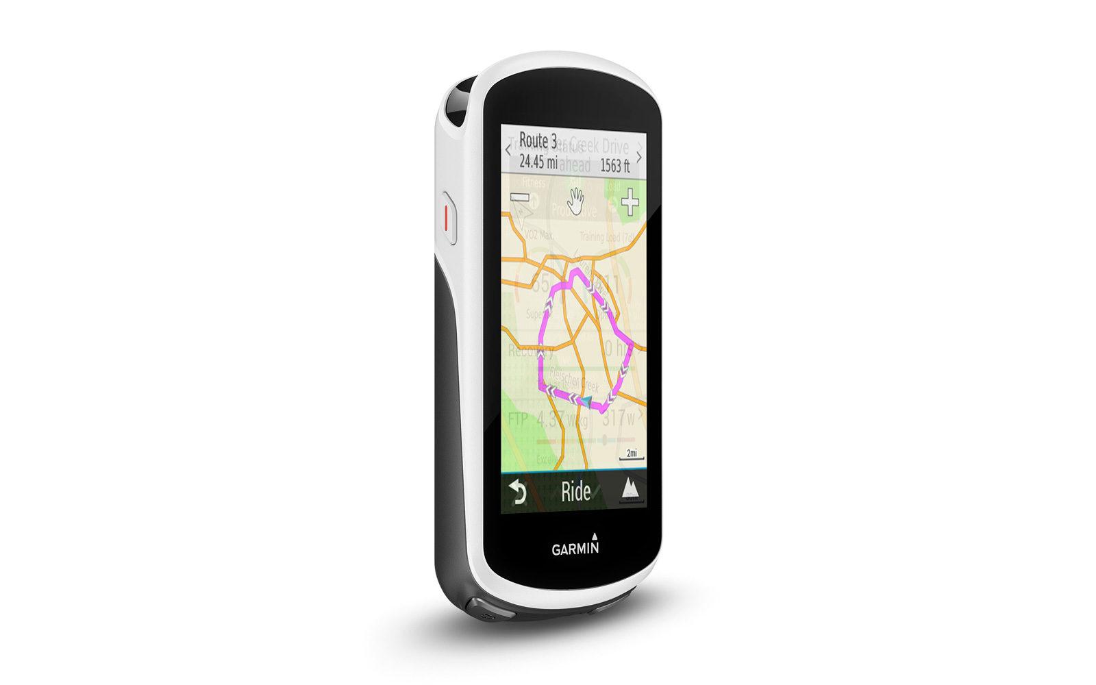 Garmin Edge 1030, un gps bike-computer multifunzione, offre indicazioni sugli itinerari, messaggistica con altri rider, rilevazione incidenti o problemi, tracciabilità del ciclista, monitoraggio distanze percorse dislivelli e velocità, da euro 599,99