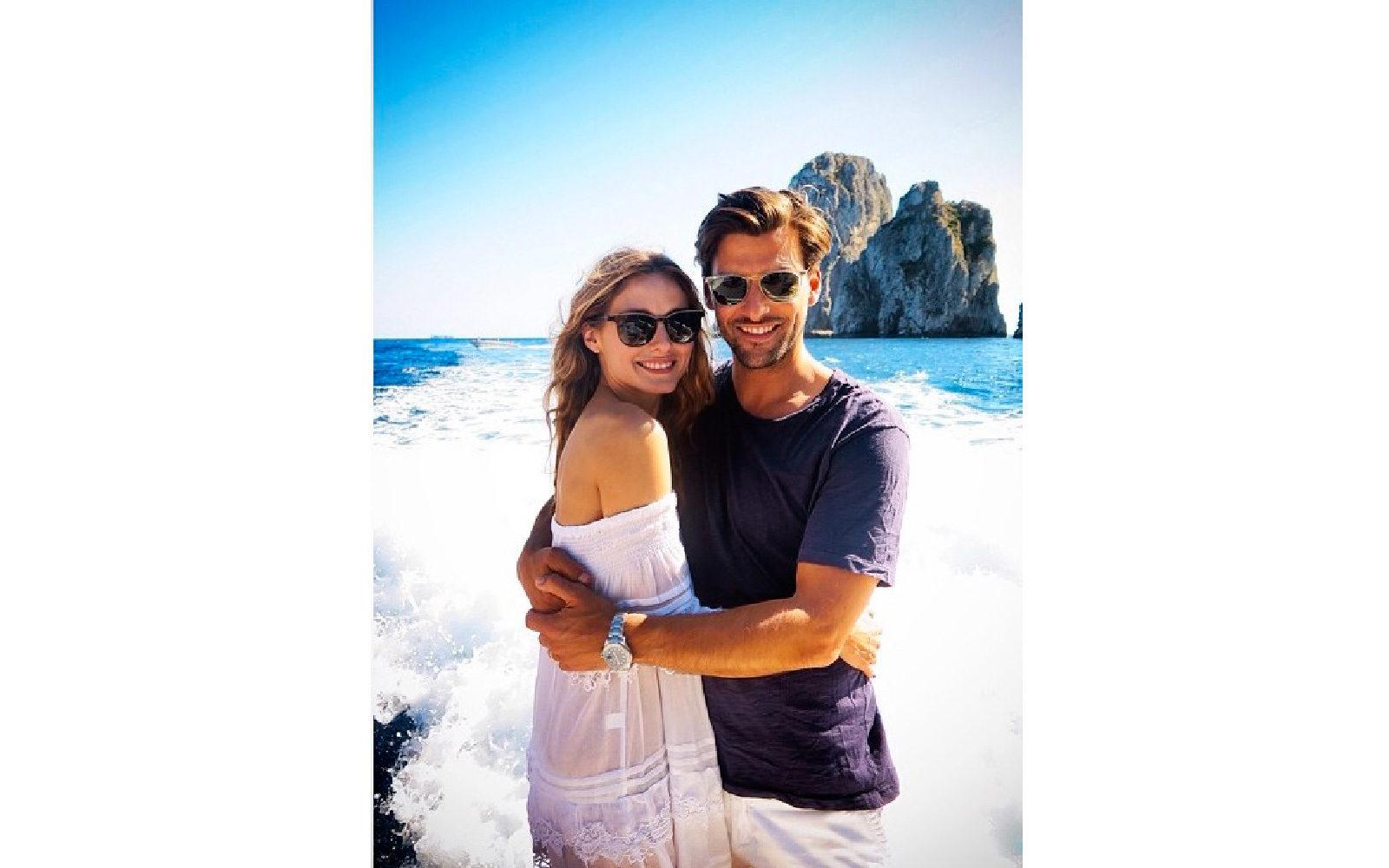 Olivia Palermo in vacanza a Capri