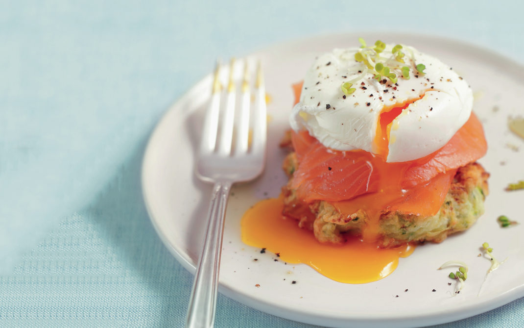 frittella con salmone uova
