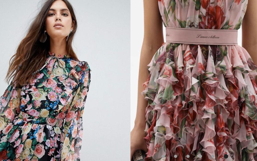 Asos / Dolce & Gabbana