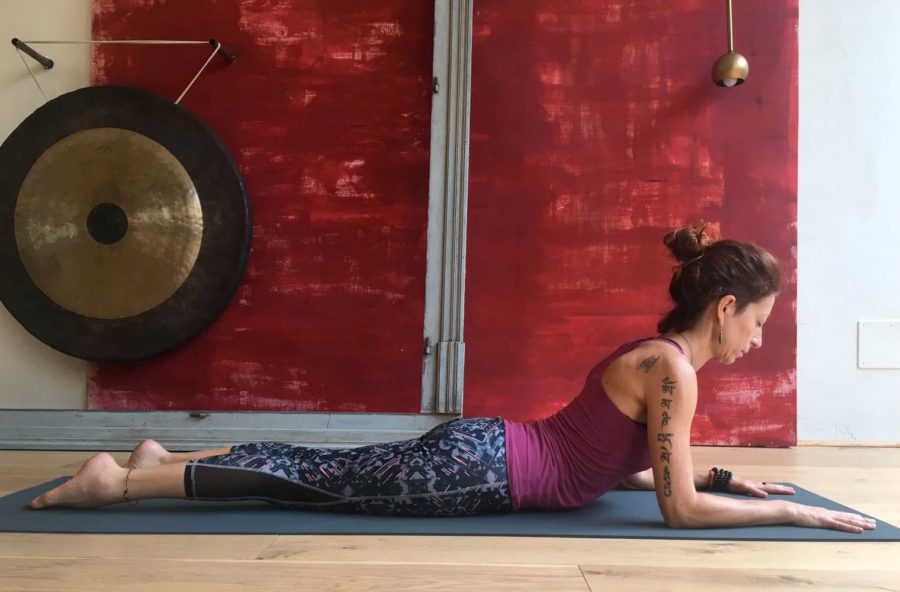 Yoga per combattere la fatica