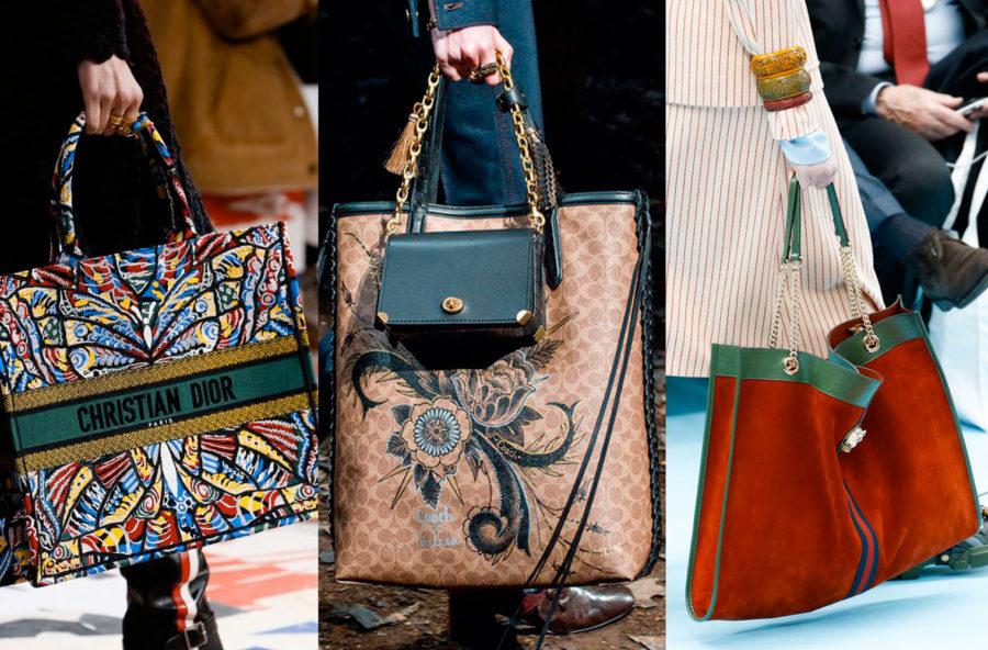 Trend accessori autunno 2018: le borse maxi