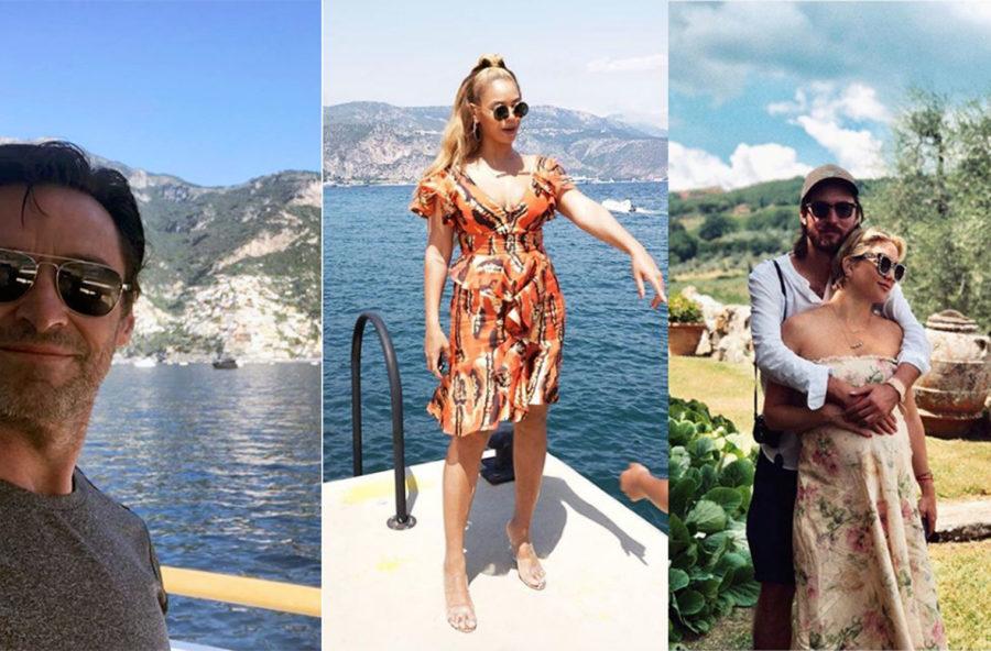 "Le vacanze ""Made in Italy"" delle star"