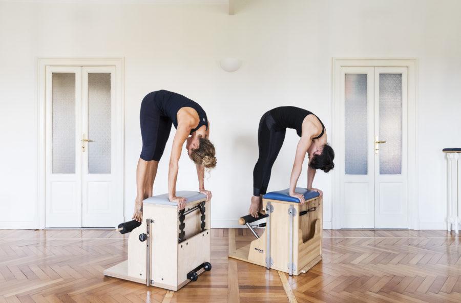 Pilates: sviluppa tono ed equilibrio sulla Chair