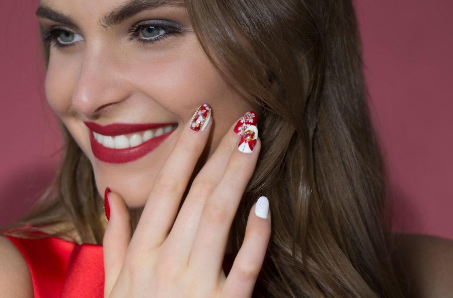 Nail art: idee scintillanti per Capodanno