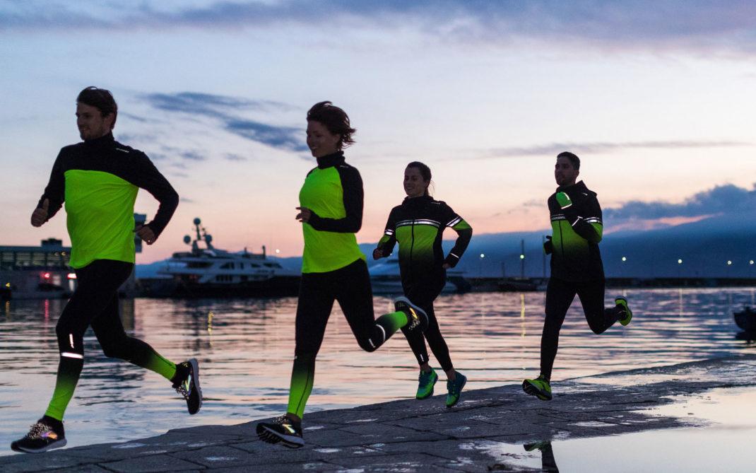 fitness correre al buio
