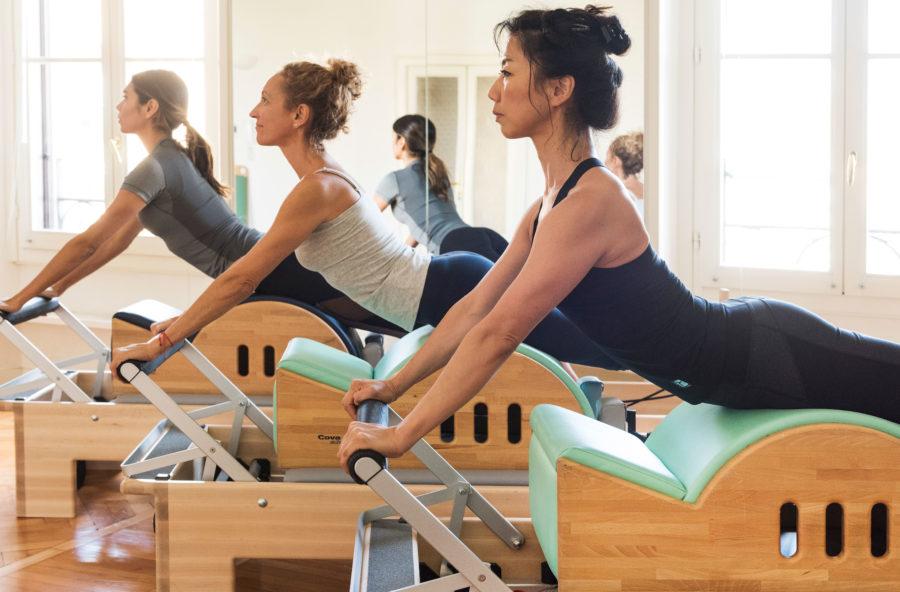 Pilates: la step barrel per gambe leggere e senza cellulite